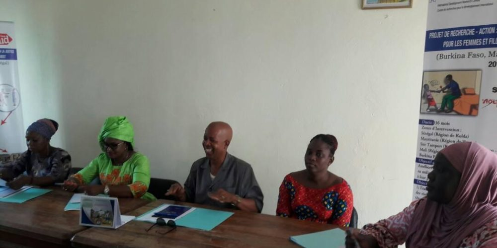 Restitution des résultats dans la commune de Coumbacara en présence du Maire et sa première adjointe